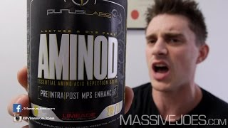 Purus Labs AminoD Essential Amino Acid Supplement - MassiveJoes.com RAW REVIEW D Puruslabs Australia
