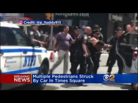 Suspect In Custody In Times Square Crash