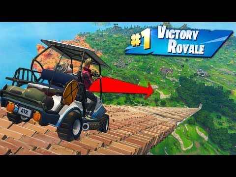 Reaching *MAX SPEED* In Golf Karts In Fortnite Battle Royale! en streaming
