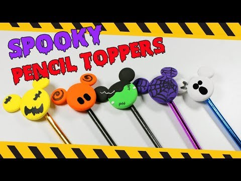 DIY Spooky Pencil Toppers | How To Make Pencil Toppers