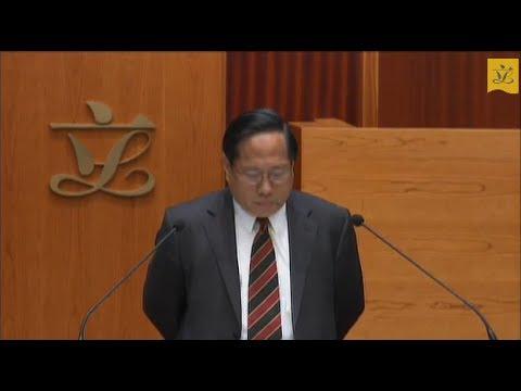 Council meeting (2012/10/10) - I. Taking of Legislative Council Oath