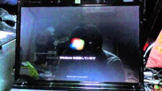 2007年発売のWindows Vista プレインストールマシンにアップグレードイ...