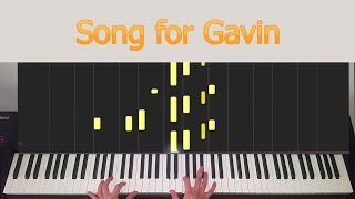 Song For Gavin - Ludovico Einaudi - Synthesia