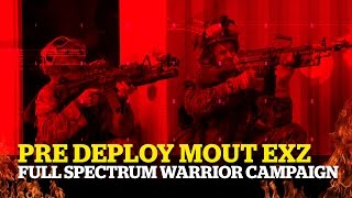 Full Spectrum Warrior PC ► : MOUT Training