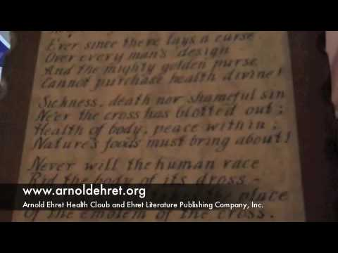 Amazing Discovery Arnold Ehret Books Found Youtube