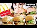 How To Make the Easiest Veggie McDonald's McChicken Burger Inspired (Vegetarian) MUKBANG-Beautyklove