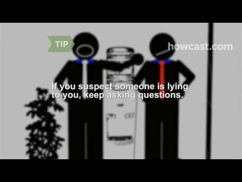 How to Deal with a Lying Co-Worker - YouTube