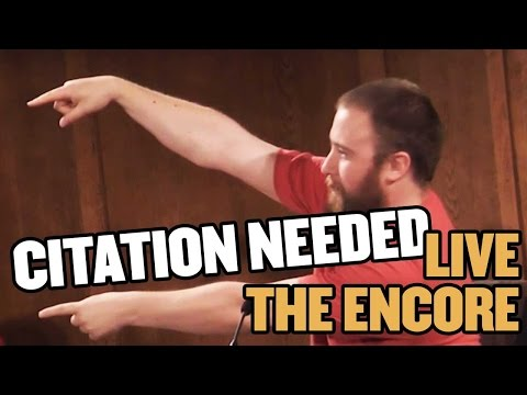 Classic Trivia Question Cards: Citation Needed Live, The Encore