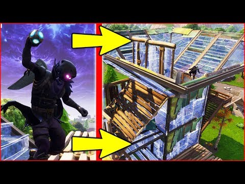 "BEST WAY TO USE NEW ""PORT-A-FORT"" in FORTNITE BATTLE ROYALE!!!"