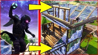 """BEST WAY TO USE NEW """"PORT-A-FORT"""" in FORTNITE BATTLE ROYALE!!!"""