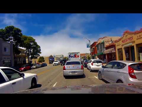 Driving in Monterey California