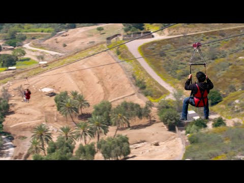 Zip Line at the San Diego Zoo Safari Park