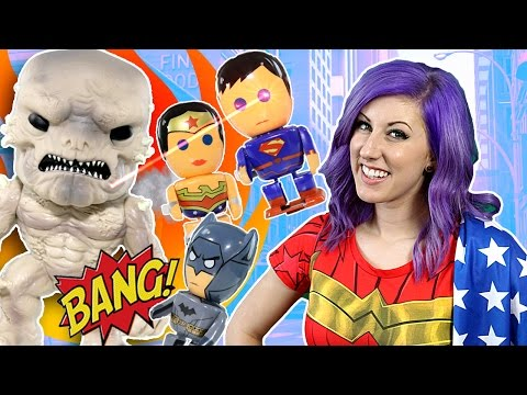 New DOOMSDAY Batman vs Superman Funko Pop Figure + EPIC Wonder Woman, Batman & Superman TOYS Battle
