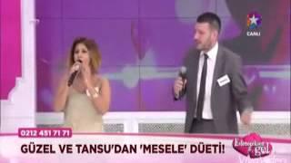 Evleneceksen Gel Güzel Gurban   Tansu Detone Mesele Şarkısı Düet   O Ses Türkiye 02 Şubat 2016