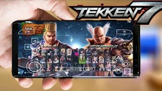 Tekken 7 for Android ios highly compressed | Hindi