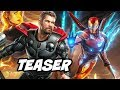 Avengers 4 Teaser Official Synopsis Iron Man Thor New Armor mp3