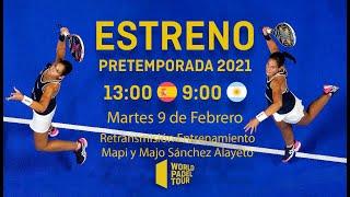 #PretemporadaWPT - Mapi y Majo Sánchez Alayeto - World Padel Tour