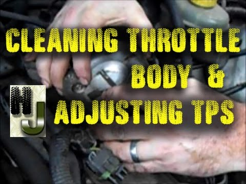 Cleaning Throttle Body - Adjusting TPS - Jeep Cherokee