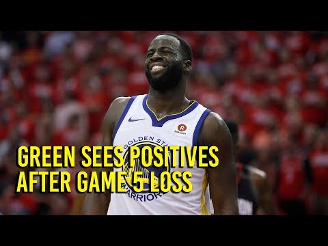NBA Playoffs: Green talks about last-second Game 5 turnover