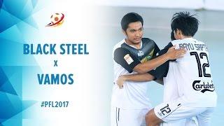 Black Steel Manokwari (3)  VS (5) Vamos Mataram - Pro Futsal League 2017
