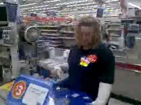Walmart shopping in Ft. Payne, Alabama