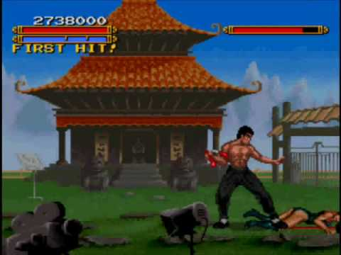 Dragon The Bruce Lee Story 2 SNES