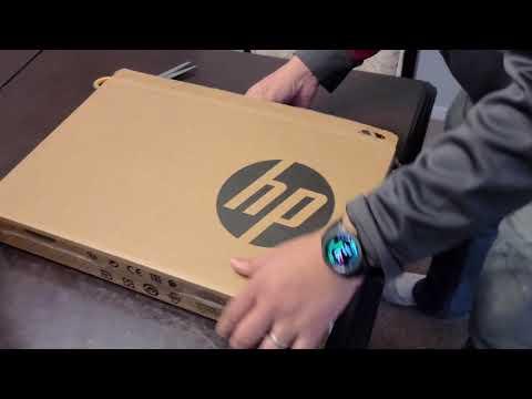 """Unboxing HP Pavilion 15.6"""" Touchscreen Laptop - 11th Gen Intel Core i7-1165G7 - Model: 15-eg0015cl."""
