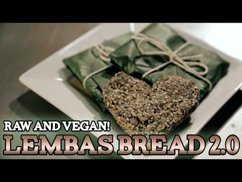 How to make LEMBAS BREAD 2.0 - Raw & Vegan! The Lord of the Rings! S3 E5