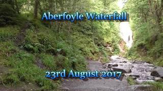 Aberfoyle Waterfall  23rd August 2017