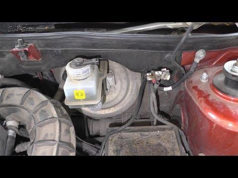 Поиск причины ухода тормозной жидкости ВАЗ 1118 Калина