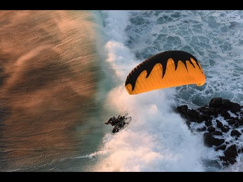 Paramotor World's Fastest & Safest Wing!! Powered Paragliding The 4XS Dominator!!