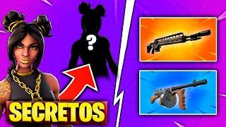 SKIN LEVEL 100 SECRET PHASE AND DRUM SUBFUSIL IN FORTNITE UPDATE 8.10