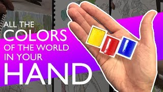 HOW TO MIX COLORS - for kids or beginners - The awesomeness of primary colors