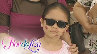 FlordeLiza: Liza is blind