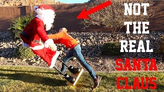 5 ft Tall Dancing Singing Santa Claus Taken Apart!?! What's inside Elf on the Shelf? https://youtu.be/2y_LsolrCFQ This is the Dancing Santa We bought: ...