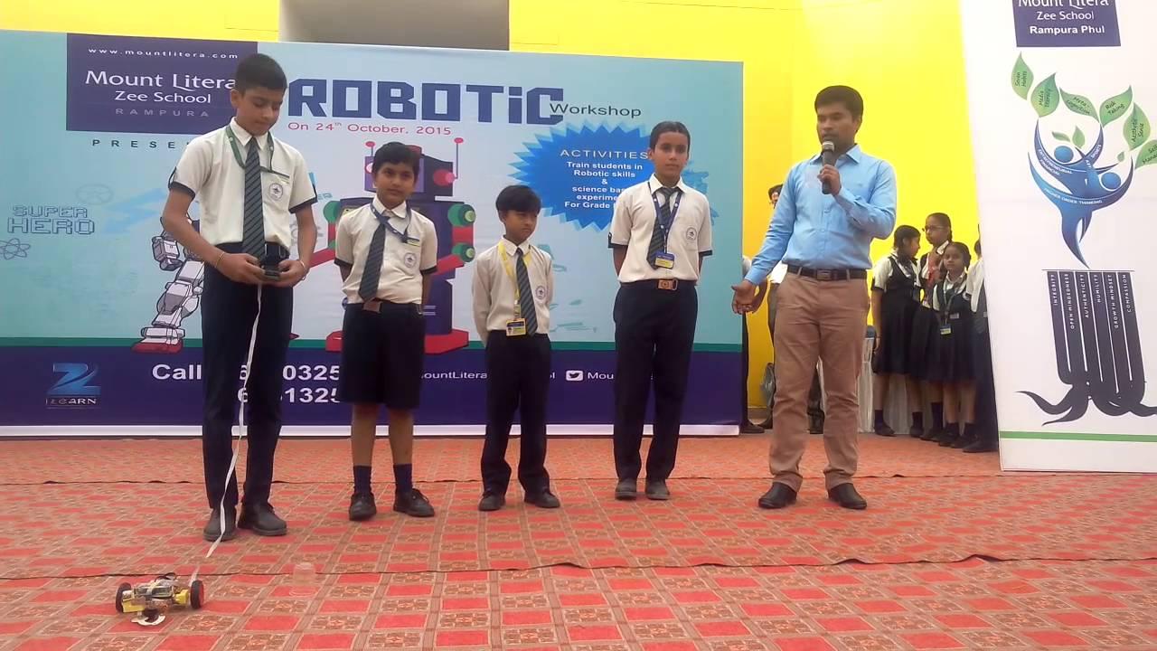 Mount Litera Zee School Rampura Phul Robotic Activity Youtube