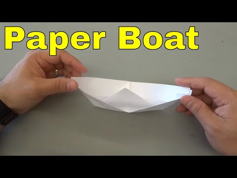 How To Make A Paper Boat-Tutorial