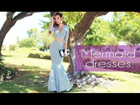 Fashion Friday Style Alert! Mermaid Cut Dresses