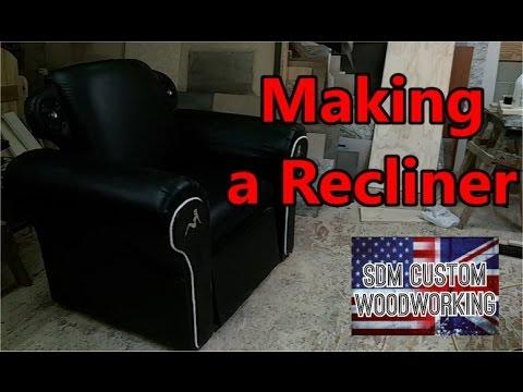 making a recliner