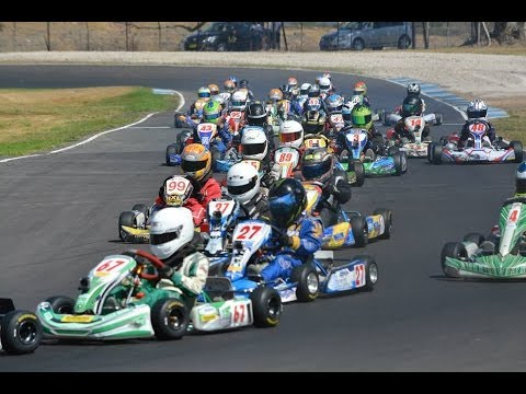 2014 Victoria Open State Champs Cadet Final at Oakleigh Go Kart Racing Club
