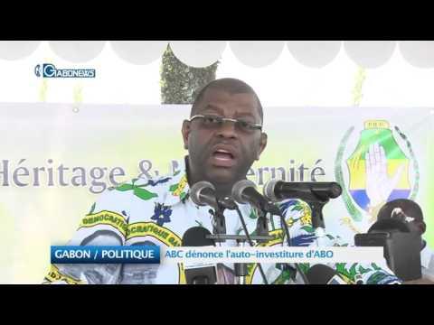 GABON / POLITIQUE:  ABC dénonce l