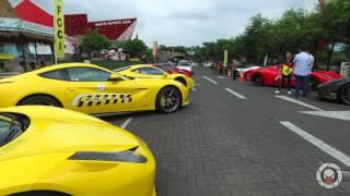 Ferrari Owners Club Indonesia (FOCI) - East Java Authenthic Fun Cruise 2016 Surabaya - Malang - Batu