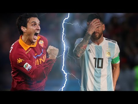 The reason why Messi got into a fight with his teammate Burdisso - Oh My Goal