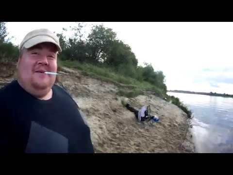 Рыбалка на реке Ока июль 2019