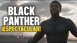 ¡Espectacular Tráiler de Black Panther!
