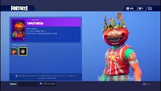 Fortnite NEW TOMATO HEAD UNLOCKABLE STYLES