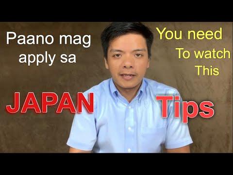 Paano Mag Apply Ng Trabaho Sa Japan  |basic Requirements And Qualification| Laurence Calledo |