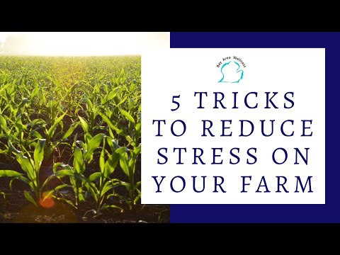 5 Tricks to Reduce Stress on Your Farm