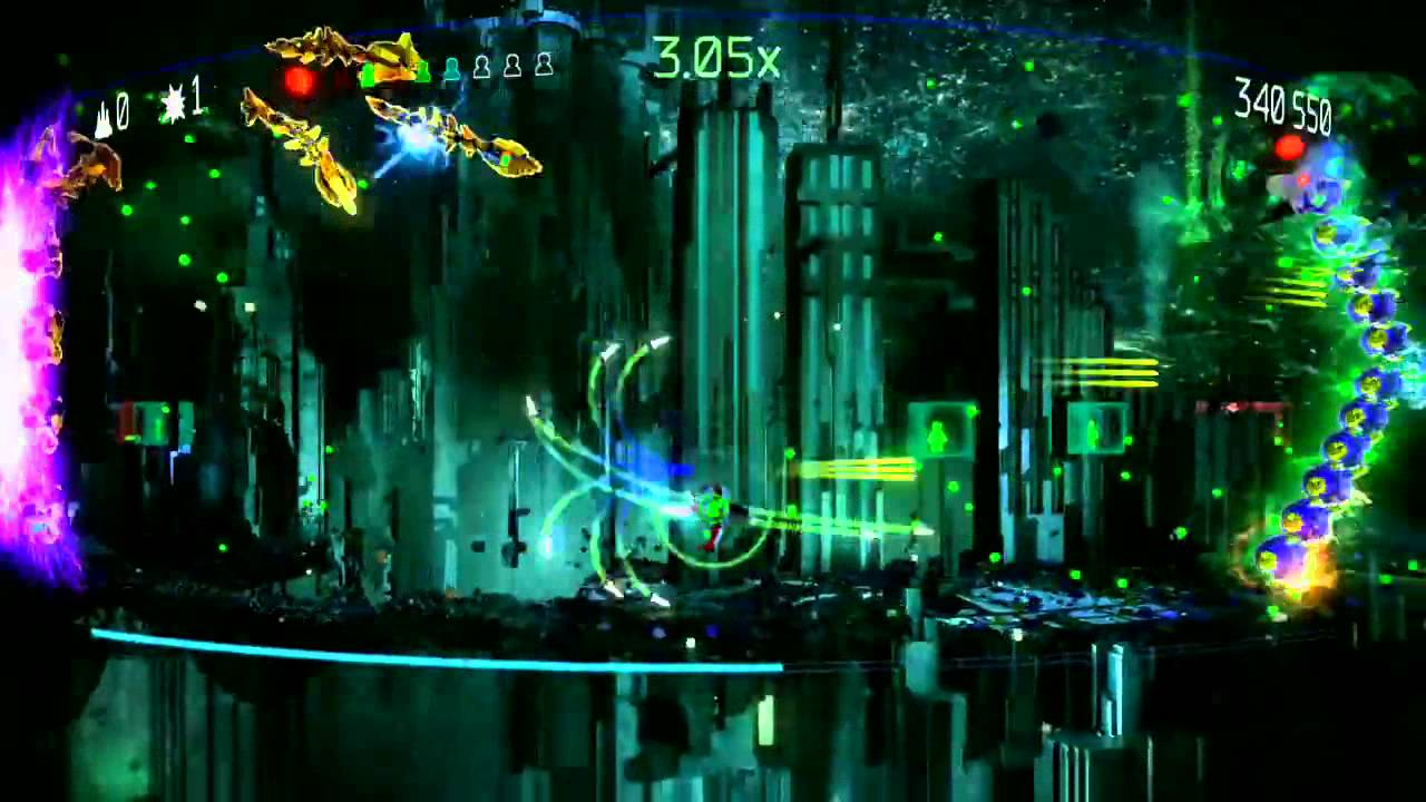 Resogun: ACIS - Master Difficulty, All Humans, Full Combo ...