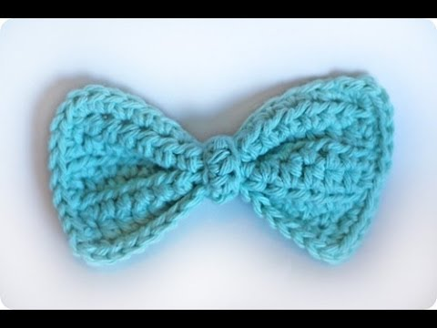 How To Crochet A Quot Bowtie Quot For Experienced Crocheters